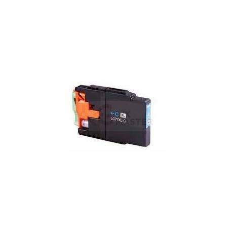 Compatible Brother LC-77XL Cyan Ink Cartridge LC-77XLC