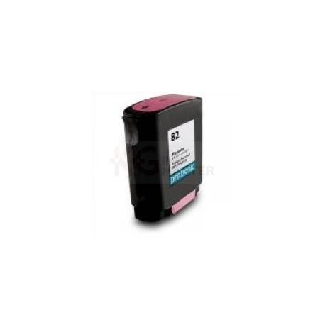 Compatible HP 82 Magenta Ink Cartridge C4912A