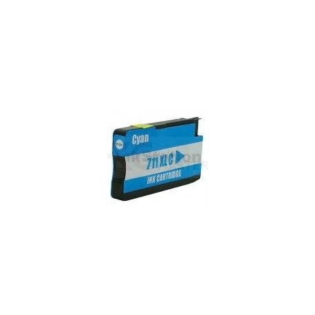 HP 711XL Compatible Cyan Inkjet Cartridge CZ130A