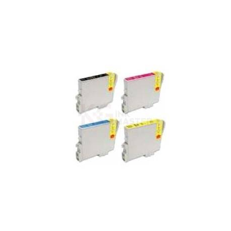 4 Pack Compatible Epson T0461 T0472 T0473 T0474 Ink Cartridge Set
