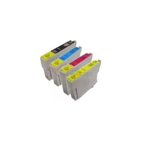 4 Pack Compatible Epson T0911 T0912 T0913 T0914 Ink Cartridge Set
