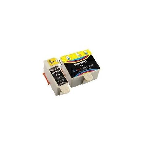 KD 10XL Black and Color Compatible Ink Cartridge