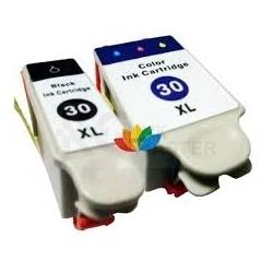 KD 30XL Black and Color Compatible Ink Cartridge