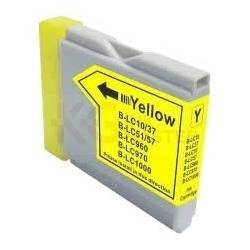Compatible Brother LC-57 Yellow Ink Cartridge