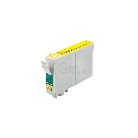 Compatible Epson T1334 133 Yellow Ink Cartridge